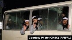 ارشیف، د طالبانو یو شمېر خوشې شوي بندیان