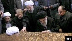 «طلب عفو و رحمت» دوباره رهبر جمهوری اسلامی برای هاشمی رفسنجانی