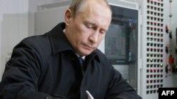 Оьрсийчоьнан президент Путин Владимир.