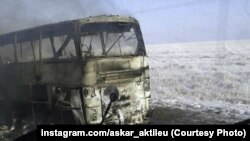 Gazagystanda ýanwarda ot alan awtobusda 52 özbek raýaty heläk bolupdy.