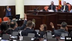Седница на собраниската Комисија за надзор над спроведувањето на посебната истражна мерка следење на комуникациите.