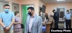 Az Uglegorszkije Novosztyi szerkesztősége 2021. július 14-én