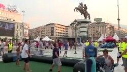 Skopye Super Kubok finalına hazırlaşır