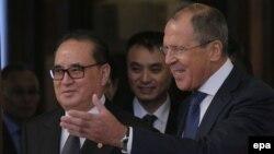 Ռուսաստանի և Հյուսիսային Կորեայի արտգործնախարարները