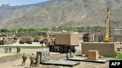 Ауғанстандағы АҚШ әскері. 17 сәуір 2013 жыл.