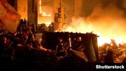 Революция достоинства, Киев, площадь Независимости, 18 февраля 2013 год