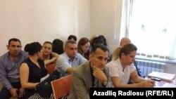 """""""ANS ÇM"""" radiosunun Milli Televiziya və Radio Şurasına (MTRŞ) qarşı iddiası üzrə məhkəmə prosesi"""