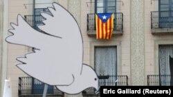 У суботу в Барселоні теж проходили мітинги супротивників відділення Каталонії, 7 жовтня 2017 року