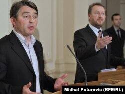 Željko Komšić i Bakir Izetbegović