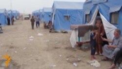 اربيل: مخيم لايواء نازحين من الموصل