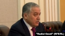 Сироджиддин Мухриддин, глава МИД Таджикистана
