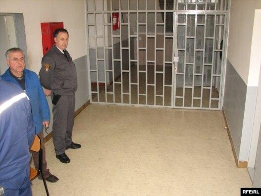 Zatvorsko odjeljenje u Ustikolini kod Goražda, foto: Alen Bajramović