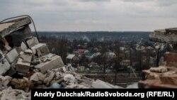 Авдіївка після обстрілів. 24 березня 2016 року