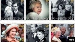 Пошта Великої Британії випустила до ювілею набір марок