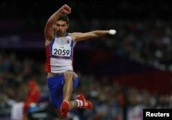 Azərbaycanlı paralimpiyaçı Hüseyn Həsənov, 2012
