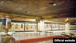 Общий вид экспозиции Музея православных икон в Торрехон-де-Ардос