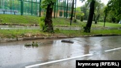 Севастополь, последствия ливня, 18 июня 2021 года
