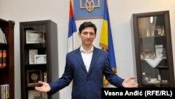 Посол Украины в Сербии Александр Александрович