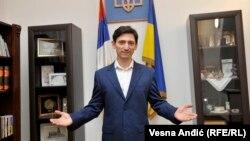 Олександр Александрович, посол України в Сербії. Лютий 2017 року
