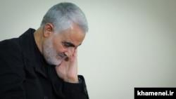 قاسم سلیمانی فرماندهنیروی قدس سپاه پاسداران