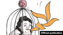 PEN təşkilatının karikaturası