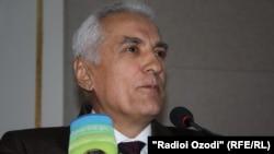 Экс-глава МИД Таджикистана Хамрохон Зарифи.
