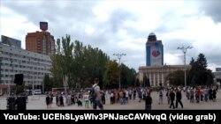 Протестувальники фактично звинуватили владу угруповання «ДНР» в зраді ідей «русской весны».