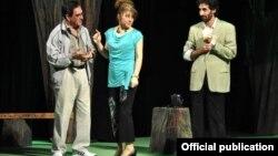 «Pələng ili» iki hissəli dramın quruluşçu rejissoru Ağalar İdrisoğludur