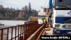 Gradnja Pupinovog mosta u Srbiji