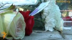 Цветы в память об Илье Сегаловиче