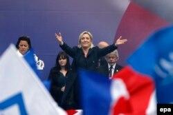 Лідер французького Національного фронту Марін Ле Пен, Париж, 1 травня 2014 року