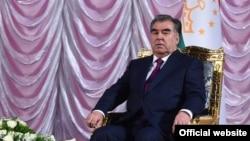 Президент Таджикистана Эмомали Рахмон. Душанбе, 9 марта 2018 года.