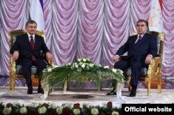 Täjigistanyň prezidenti Emomali Rahmon. Duşenbe, 2018-nji ýylyň 9-njy martynda düşürilen surat.