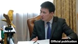 Айбек Калиев в бытность председателем Нацэнергохолдинга. 21 января 2016 года.