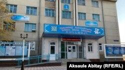 Қаратау қаласындағы технология, білім және бизнес колледжі, Жамбыл облысы. 7 қазан 2020 жыл.