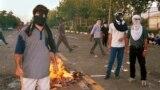 Iran/ Tehran/ Iran student protests/ July 1999/. FILE PHOTO
