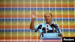 Preşedintele suspendat al României Traian Băsescu