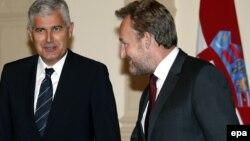 Dragan Čović lider HDZ i Bakir Izetbegović lider SDA