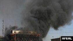 "Боевики ""Талибана"" атаковали центр Кабула."
