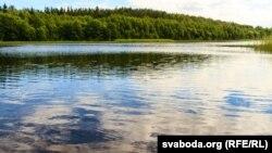 Возера Ляжанка ў Налібацкай пушчы