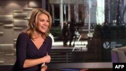 Хезер Нойерт в студии Fox News в 2014 году