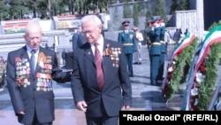 В Душанбе отметили 68-ю годовщины Победы