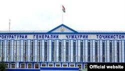 Здание Генеральной прокуратуры Таджикистана.