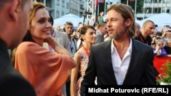 Angelina Jolie i Brad Pitt na Sarajevo Film Festivalu 2011.