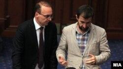 Собранието расправа за разрешување на Јавниот обвинител Марко Зврлевски