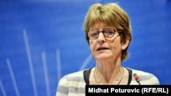 Avropa Şurası Parlament Assambleyasının prezidenti Anne Brasseur