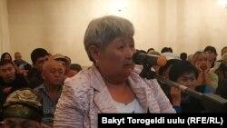 Зууракан Сатыбекова.