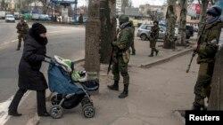 Вулиця Донецька, 18 березня 2015 року