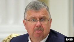 Andrei Belyaninov, head of Russia's Federal Customs Agency (file photo)