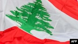 Флаг Ливана.
